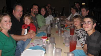 Eating at Matt's El Rancho